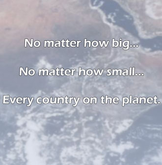 Every country on the planet!